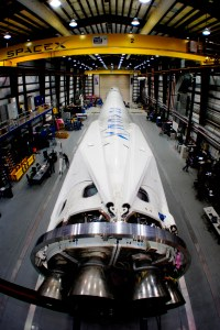 Falcon 9 v1.1 in factory